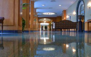 Hotel Lobby Floor Maintenance Service